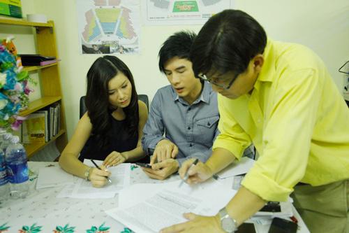 """thuy tien - dan truong: hanh phuc sau """"bao giong"""" - 2"""