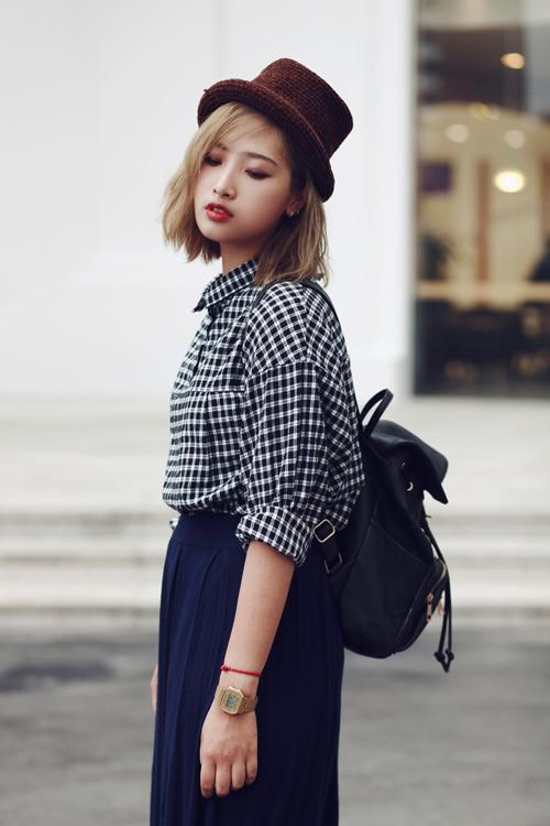 """eva dep: stylist 20 tuoi gioi """"phu phep"""" vay dai - 17"""