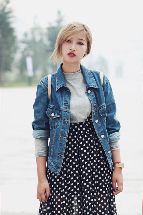 """eva dep: stylist 20 tuoi gioi """"phu phep"""" vay dai - 13"""