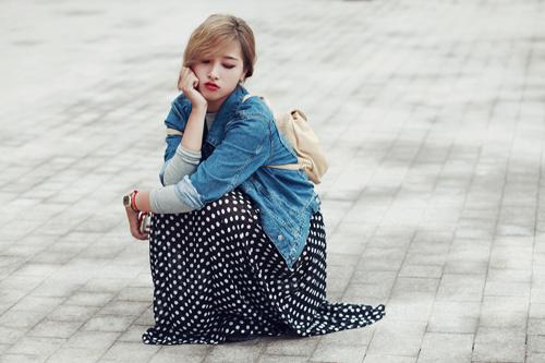 """eva dep: stylist 20 tuoi gioi """"phu phep"""" vay dai - 15"""