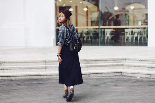 """eva dep: stylist 20 tuoi gioi """"phu phep"""" vay dai - 8"""