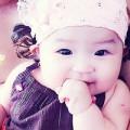 Bà bầu - Cô bé Thái An cười tít mắt