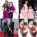Thời trang - Mặc đồ đôi ấn tượng như gia đình sao Việt