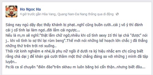 "ha ho ""buon  cuoi"" vi ngan khanh bi phat - 2"