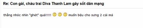 chau trai thanh lam gay sot cong dong mang - 2