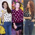Thời trang - Sao Việt đón đầu mốt họa tiết trái tim