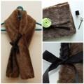 Thời trang - Eva khéo tay: Khăn lông ấm áp ngày đầu đông