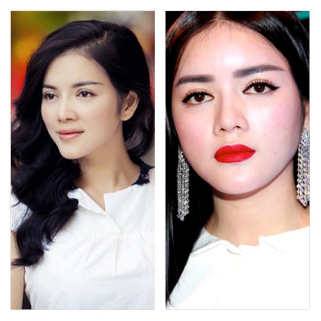 Lý Nhã Kỳ gần đây xuất hiện với gương mặt bóngmọng. So với hình ảnh cũ trước kia của cô, không ít người nhận ra sự khác biệt rõ rệt.