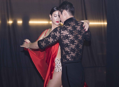 maya lai ''gay thuong nho'' khi tro tai khieu vu - 2