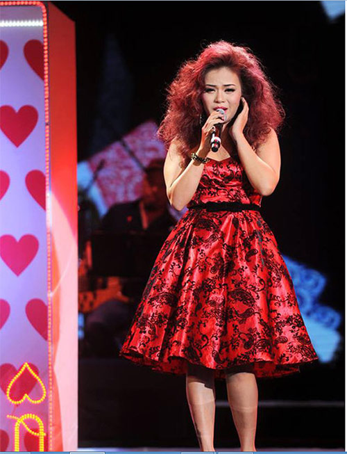 hai yen idol ''to'' the voice dung bai hat trai phep - 4