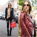 Thời trang - Ứng biến sành điệu với áo khoác da