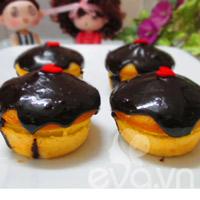 banh muffin chuoi ngon chay nuoc mieng! - 14