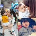 Làm mẹ - Con HH Dương Thùy Linh cute miễn chê