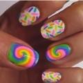 Làm đẹp - Vẽ móng tay hình kẹo cực hay