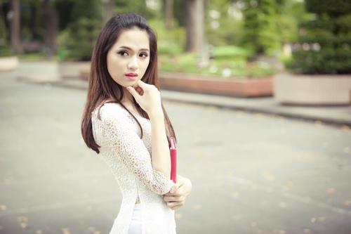 huong giang idol tinh khoi trong ta ao dai trang - 6