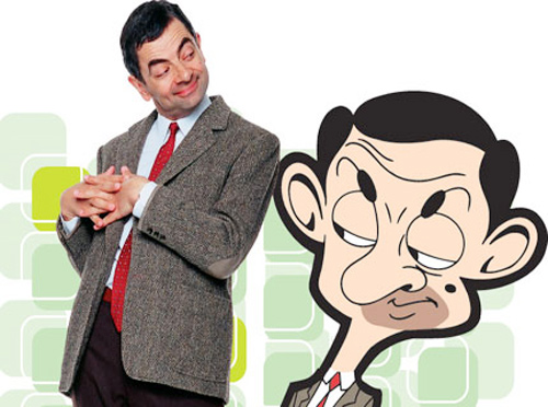 """mr bean"" rowan atkinson bi don tu tu - 2"