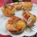 Bếp Eva - Thử làm bánh pizza cupcake nào!