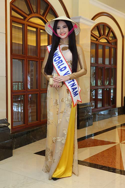 """tran thi quynh thuoc top """"gai tre"""" mrs world - 1"""