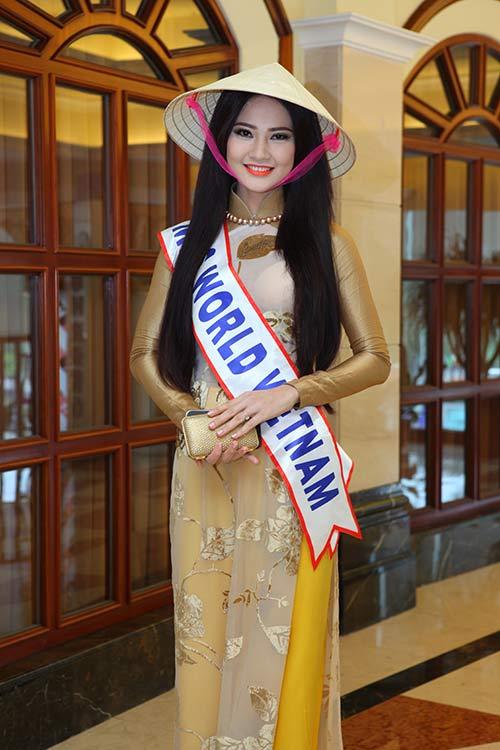 """tran thi quynh thuoc top """"gai tre"""" mrs world - 2"""