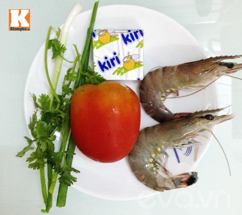 Tôm sốt phô mai con ăn vèo bữa sáng - 1