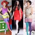 Thời trang - Sao Hoa ngữ chơi trội với mốt tất cọc cạch