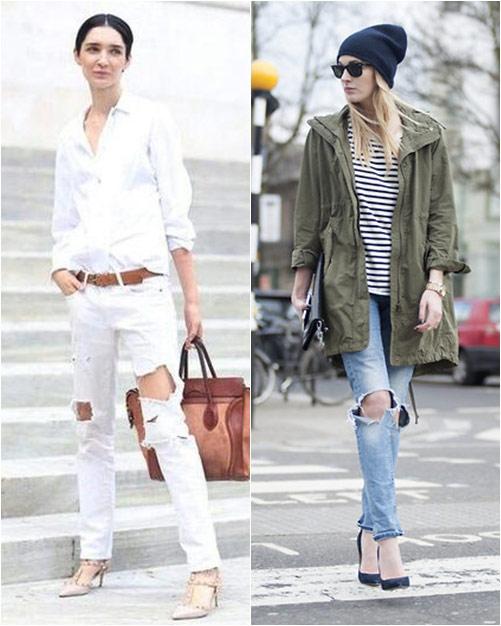 jeans rach vu hoang diep: sanh dieu hay nua mua? - 5