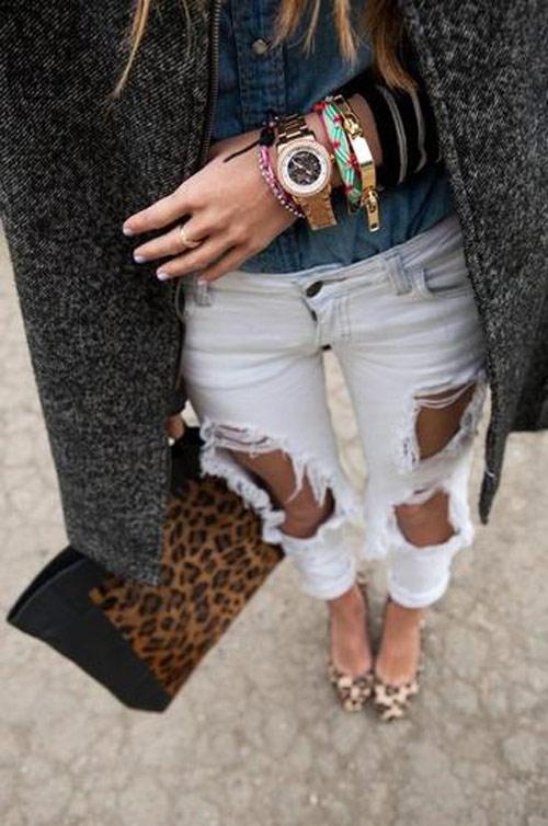 jeans rach vu hoang diep: sanh dieu hay nua mua? - 6