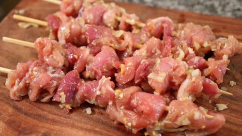 Thịt nướng xiên kiểu Hàn hấp dẫn - 5