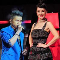 """Hồng Nhung """"thách"""" Hoàng Tôn thi The Voice Mỹ"""