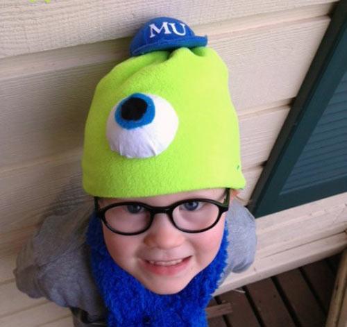 Khâu mũ cho con 'mùa đông không lạnh' - 1