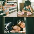 Nuôi con - Hai bé Nhật cute dưới ống kính của bố