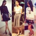 Thời trang - Thanh Hằng điệu đà diện váy xuống phố