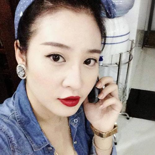 'buot mat': me 1 con dang chuan hon mau - 8