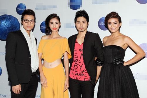 """truong thi may van dat show du """"trang tay"""" hhhv 2013 - 13"""