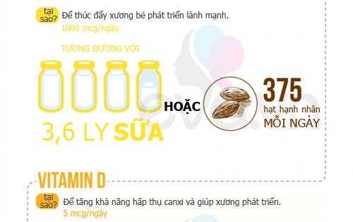 dinh duong 'chuan' 9 thang mang thai - 3
