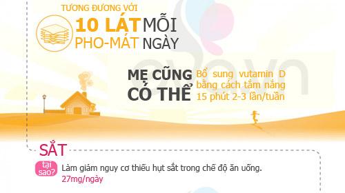 dinh duong 'chuan' 9 thang mang thai - 4
