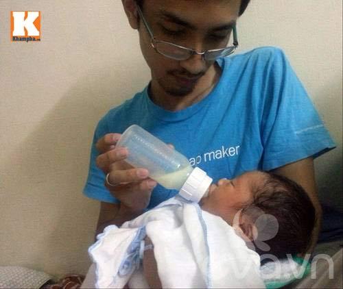 Bố đơn thân lặn lội xin sữa nuôi con - 2