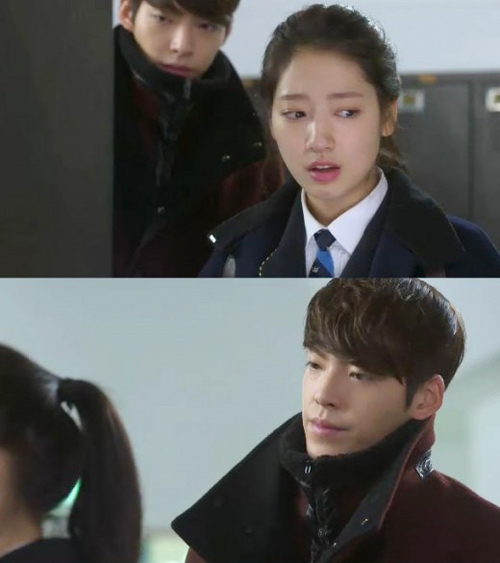 the heirs: park shin hye bo roi lee min ho - 3