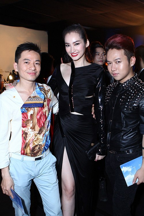 'cuọc chién' mỹ nhan tren thảm dỏ elle show - 11