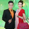 Làng sao - Ngọc Quyên duyên dáng bên MC Thanh Bạch