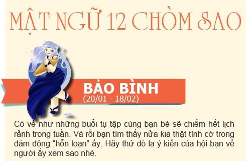 boi tinh yeu: tuan  2/12 -  8/12/2013 - 1