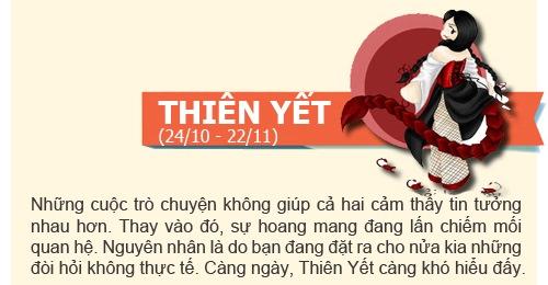 boi tinh yeu: tuan  2/12 -  8/12/2013 - 10