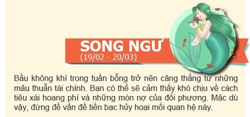 boi tinh yeu: tuan  2/12 -  8/12/2013 - 2