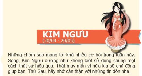 boi tinh yeu: tuan  2/12 -  8/12/2013 - 4