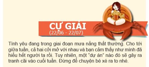 boi tinh yeu: tuan  2/12 -  8/12/2013 - 6