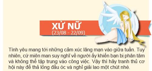 boi tinh yeu: tuan  2/12 -  8/12/2013 - 8