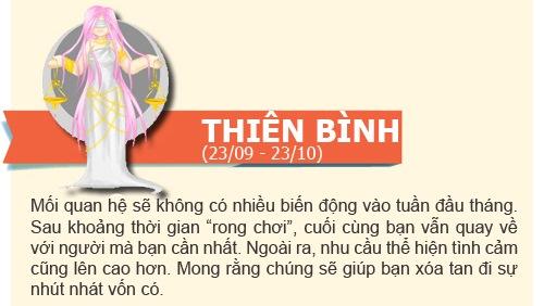 boi tinh yeu: tuan  2/12 -  8/12/2013 - 9