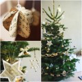 Nhà đẹp - Làm đồ trang trí Noel đáng yêu từ báo cũ
