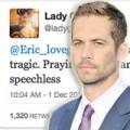 Sao Hollywood buồn trước cái chết của Paul Walker