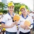 Làng sao - Trần Thị Quỳnh đi bộ vì người khuyết tật